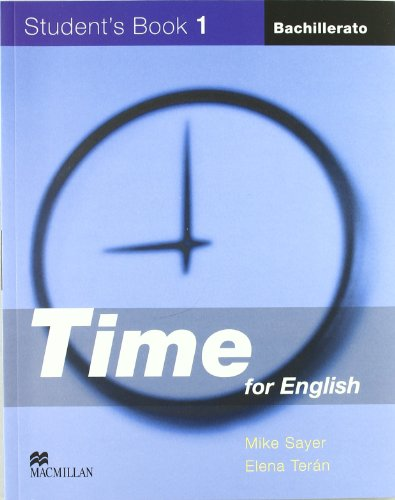 9781405066808: TIME FOR ENGLISH 1 Sb Pk Cast