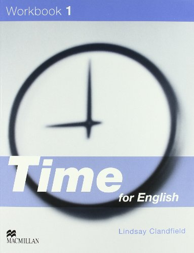 9781405066839: TIME FOR ENGLISH 1 Wb Pk