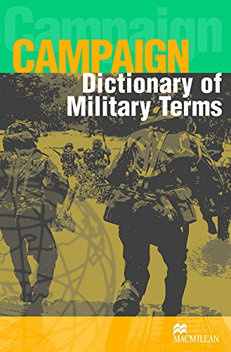 9781405067034: Dictionary of Military Terms (Campaign Series Cover)