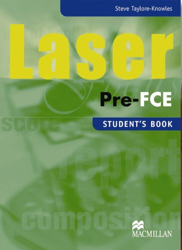9781405067997: Laser Pre-FCE: Intermediate: Student's Pack