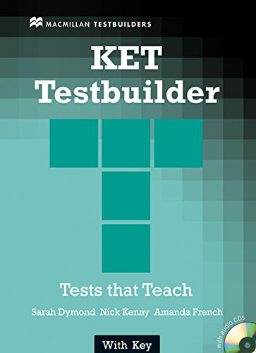 9781405069762: KET TESTBUILDER +Key Pk: Student's Book with Key