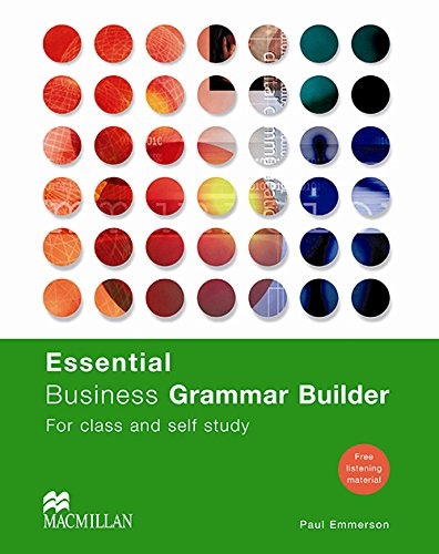 9781405070485: Essential Business Grammar Builder (Business Builders S)
