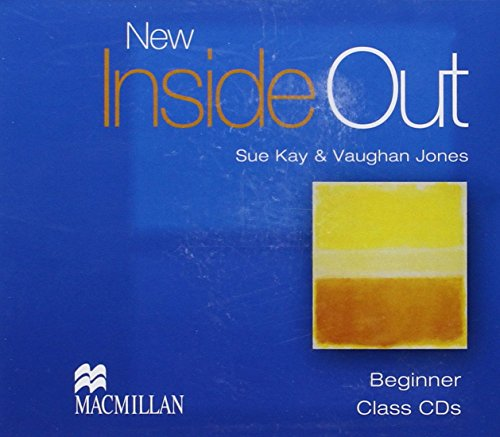 9781405070560: New Inside Out - Class CDs - Beginner