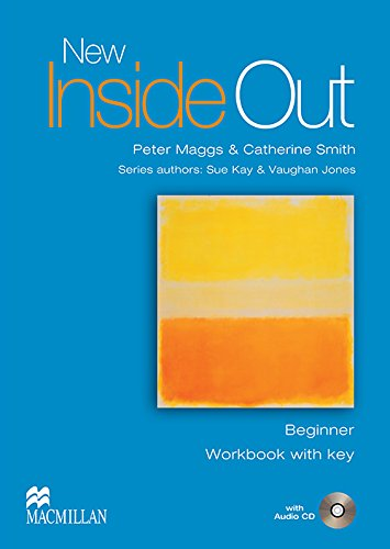 9781405070607: New Inside Out - Workbook - Beginner - With Key and Audio CD- CEF A1