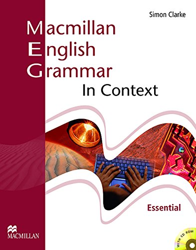 9781405071468: Macmillan English Grammar In Context - Essential with CD Rom