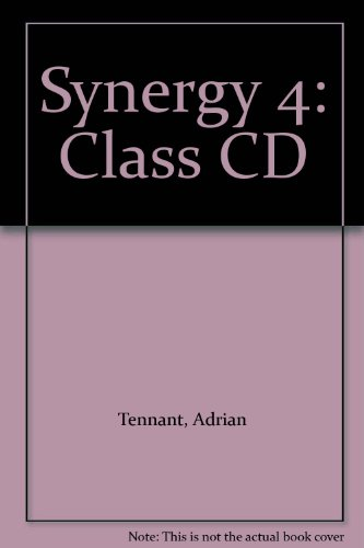 Synergy 4: Class CD (9781405073523) by Adrian Tennant; Clyde Fowle; Simon Brewster; Paul Davies; Mickey Rogers