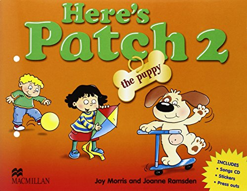 9781405074674: Here's Patch the Puppy 2 + CD: Pupil's Book with Songs Audio-CD: Level 2