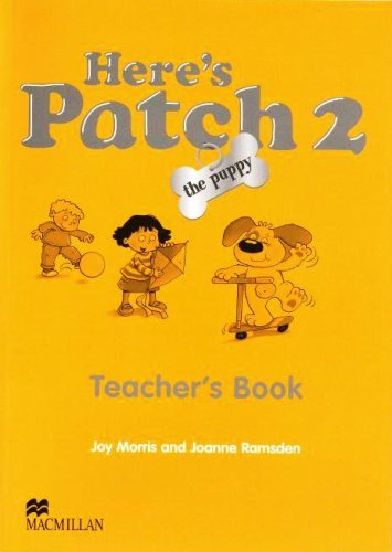 9781405074698: Here's Patch the Puppy: Level 2: Teacher's Book