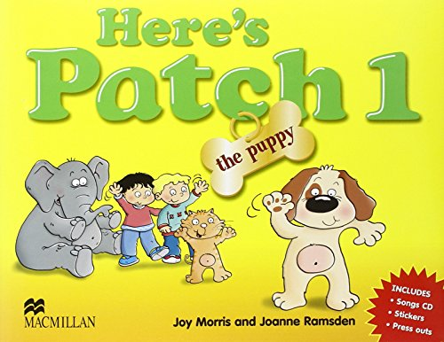 9781405074759: Here's Patch the Puppy 1 Student's Pack International: Pupil's Book with Songs Audio-CD: Level 1