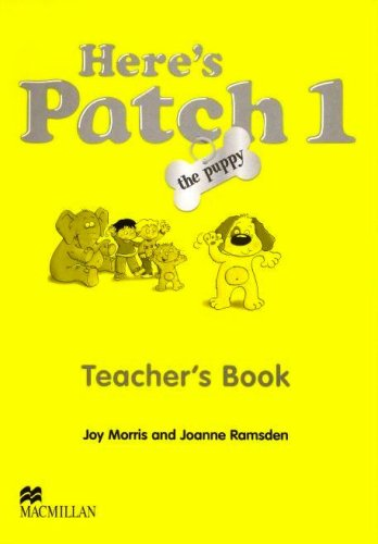 9781405074773: Here's Patch the Puppy: Level 1: Teacher's Book