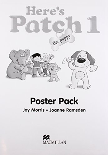 9781405074780: Here's Patch the Puppy: Classroom Poster: Level 1