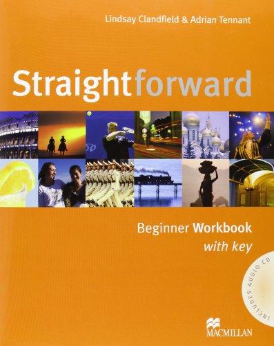 9781405075169: Straightforward Beginner: Workbook with Key Pack