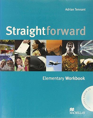 9781405075206: Straightforward. Elementary. Workbook. Per le Scuole superiori