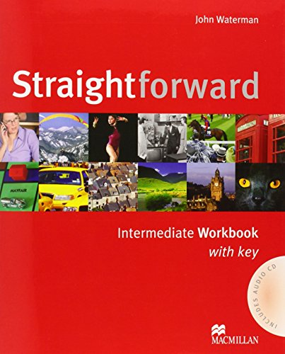 9781405075220: Straightforward Intermediate: Workbook with Key Pack