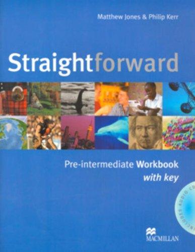 9781405075251: Straightforward. Pre-intermediate. Workbook. With key. Per le Scuole superiori: Workbook with Key Pack