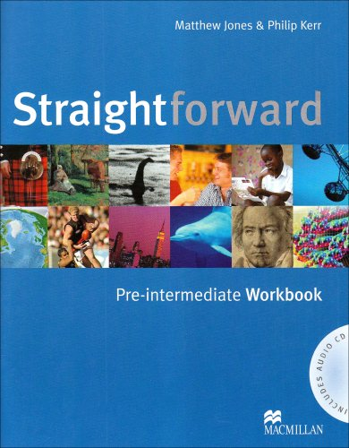 9781405075268: Straightforward Pre-Intermediate: Workbook without Key Pack