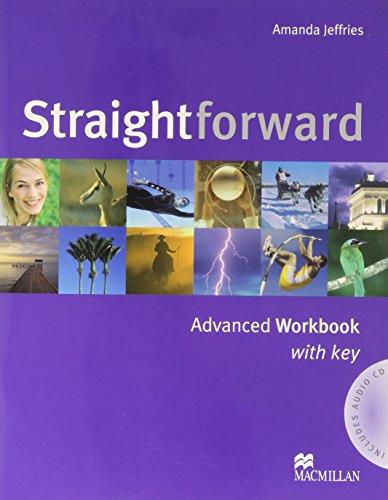 9781405075312: Straightforward - Workbook - Advanced - With Key and Audio CD