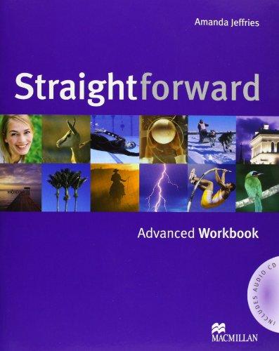 9781405075329: Straightforward - Workbook - Advanced - With Key and Audio CD