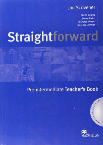 9781405075480: Straightforward Pre-Intermediate: Teachers Book and Resource Pack
