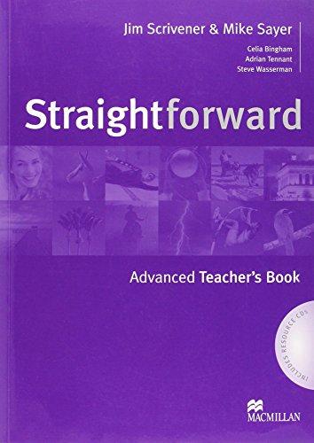 9781405075572: Straightforward Advanced: Teacher's Book Pack