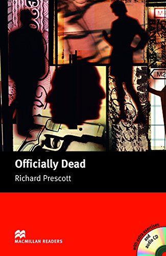 9781405076845: Officially Dead - Book and Audio CD Pack - Upper (Macmillan Reader)