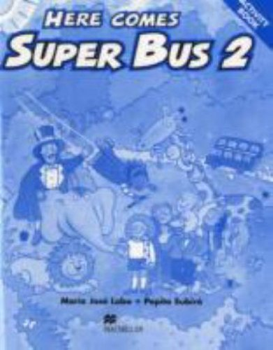9781405076920: Here Comes Super Bus 2 Activity Book Swiss Edition