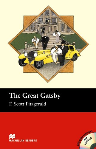 9781405077033: The Great Gatsby - Book and Audio CD Pack - Intermediate (Macmillan Reader)