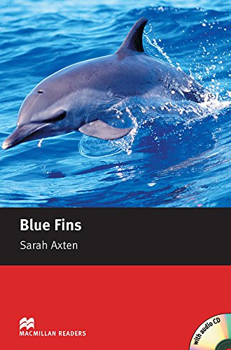 9781405077897: Blue Fins - With Audio CD (Macmillan Reader)