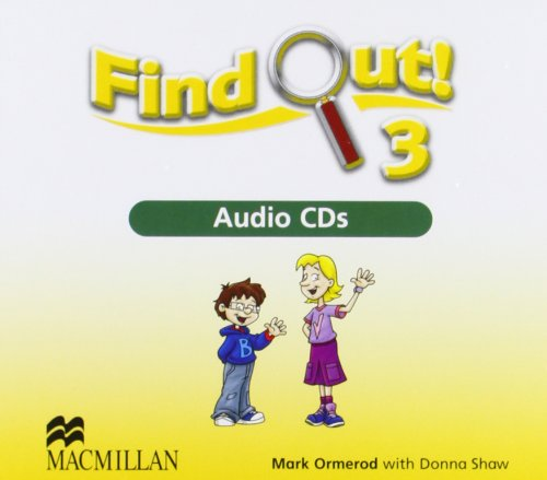 9781405078337: Find Out 3 Audio Cds