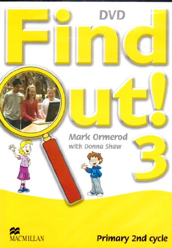 Find Out 3-4 DVD: Donna Shaw Ormer, Mark