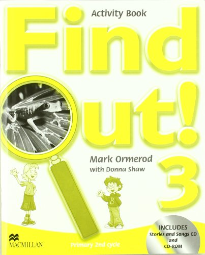 9781405078375: FIND OUT 3 - WB PACK (SONGS CD + CD ROM)