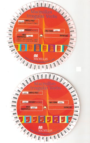 9781405079877: Macmillan Irregular Verb Wheel