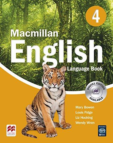 9781405081252: Macmillan English 4: Language Book