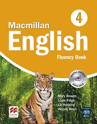 9781405081269: MACMILLAN ENGLISH 4 Fluency: Fluency Book (High Level Primary ELT Course for the Middle East) - 9781405081269