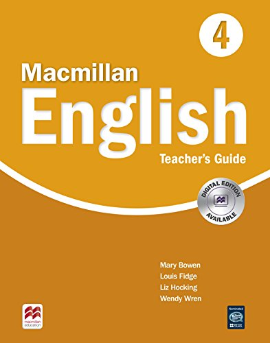 9781405081283: Macmillan English 4 Teacher's Guide