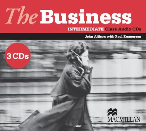 9781405081849: The Business - Intermediate Class Audio CD