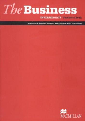 9781405081863: The Business - Intermediate Teacher's Book