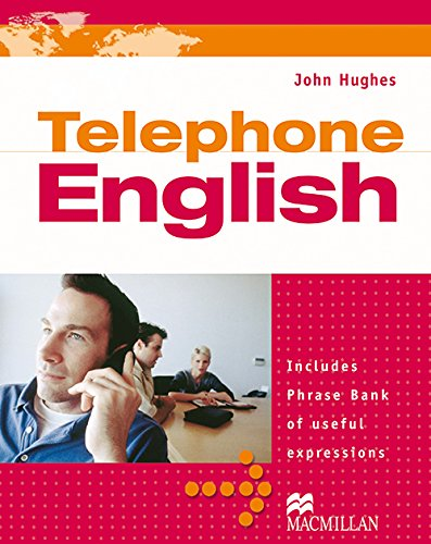 Telephone English: Students Book with Audio CD: Hughes, John
