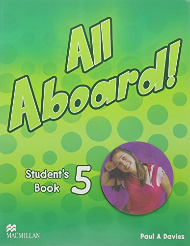 9781405082730: ALL ABOARD STUDENTS BOOK 5 C/CD