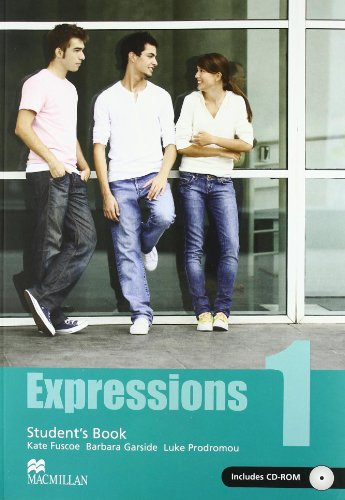 EXPRESSIONS 1 STS PACK (+CD ROM) - SIN AUTOR
