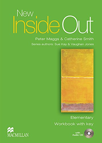 9781405085984: New Inside Out - Workbook - Elementary - With Key and Audio CD - CEF A1 / A2