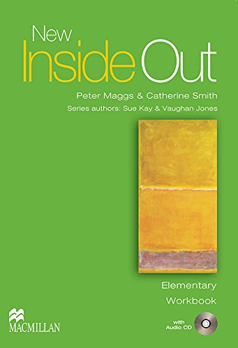 9781405085991: New Inside Out - Workbook - Elementary - With Audio CD - CEFA1 / A2