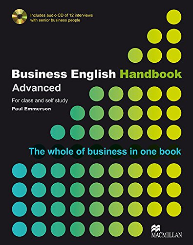 9781405086059: BUSINESS ENGLISH HANDBOOK Adv Pack