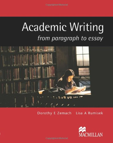 9781405086066: Academic Writing: From Paragraph to Essay