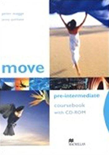 9781405086141: Move Pre-Intermediate: Coursebook with CD-ROM (Move): Coursebook with CD-ROM (Move)