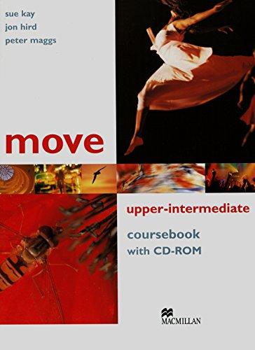 9781405086189: Move Upper Intermediate: Coursebook with CD-ROM