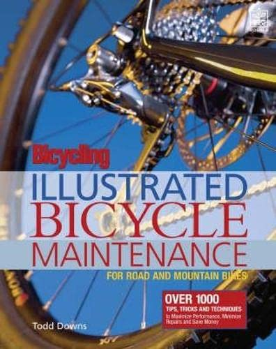 9781405087889: Bicycling Magazine's Illustrated Bicycle Maintenance