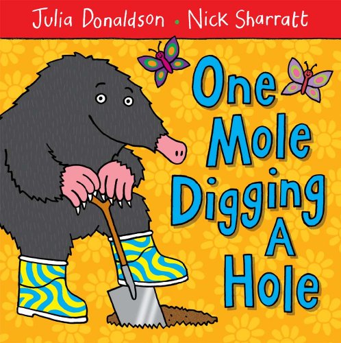 9781405089456: One Mole Digging A Hole