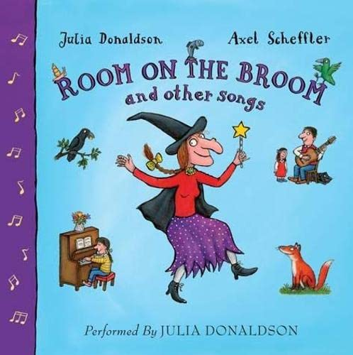 9781405089739: Room on the Broom and Other Songs