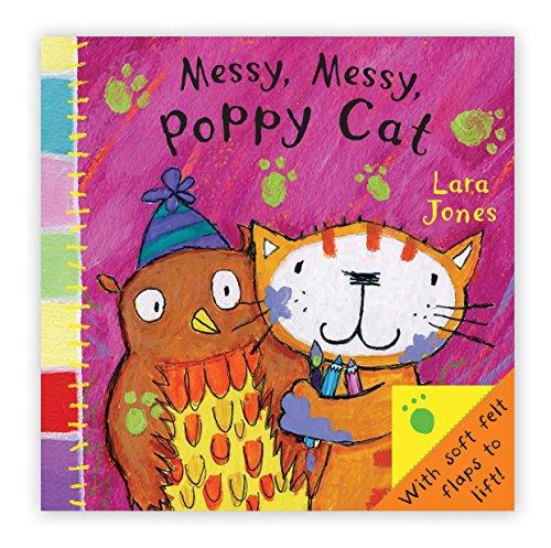 9781405091114: Poppy Cat Peekaboos: Messy Messy, Poppy Cat